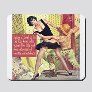Little Black Dress Mousepad