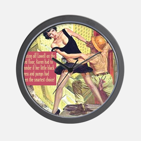 Little Black Dress Wall Clock
