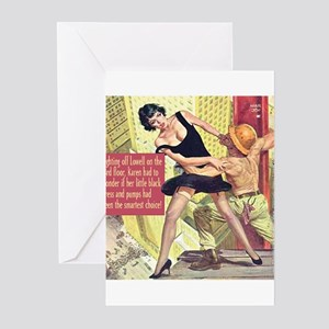 Little Black Dress Greeting Cards (Pk of 10)