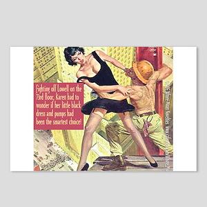 Little Black Dress Postcards (Package of 8)