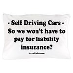 Self Driving Cars Pillow Case