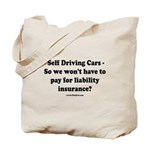 Self Driving Cars Tote Bag