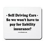 Self Driving Cars Mousepad