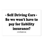 Self Driving Cars Postcards (Package of 8)