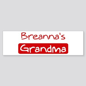 Breannas Grandma Bumper Sticker