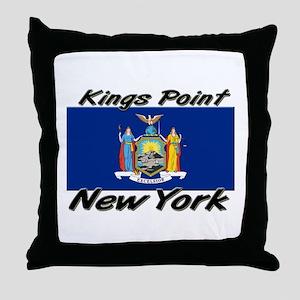 Kings Point New York Throw Pillow