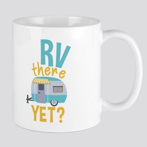 Rv There Yet? And Heart Mug Mugs
