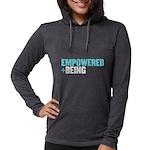 Dcbeings Womens Hooded Shirt Long Sleeve T-Shirt