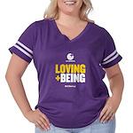 Dcbeings Women's Plus Size Football T-Shirt