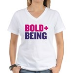 Dcbeings Women's V-Neck T-Shirt