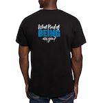 Dcbeings Men's Fitted T-Shirt (dark)