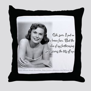 Sex Change Throw Pillow