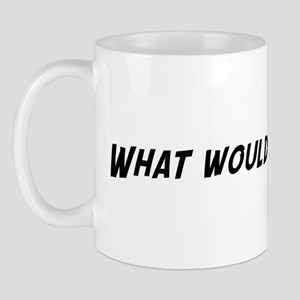 What would Arnold do? Mug