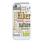 Hiker Word Cloud iPhone 8/7 Tough Case