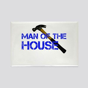 Man of the house Rectangle Magnet