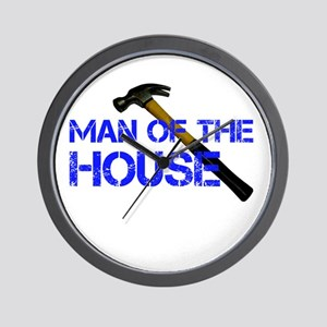 Man of the house Wall Clock
