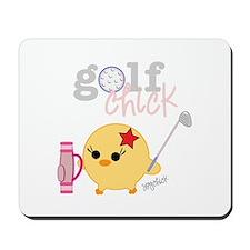 Golf Chick Mousepad