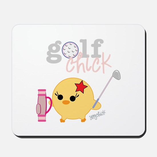 Golf Chick Mousepad