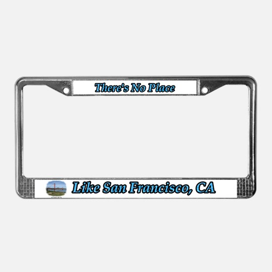 There's No Place Like Cape Cod License Plate Frame