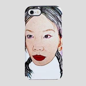 Asian beauty lady woman girl  iPhone 7 Tough Case