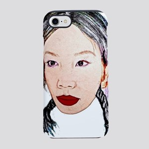Asian beauty lady woman girl  iPhone 7 Tough Case