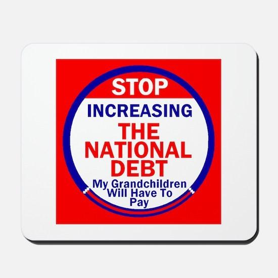 National Debt Mousepad