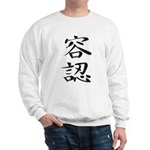 Acceptance - Kanji Symbol Sweatshirt