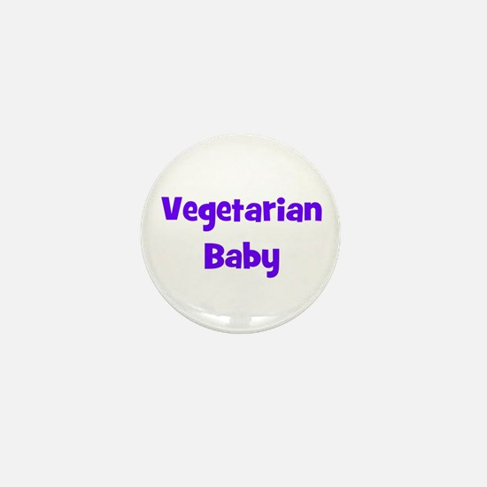 Vegetarian Baby - Multiple Co Mini Button