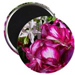 "Pretty Bright Flowers 2.25"" Magnet (10 pack)"