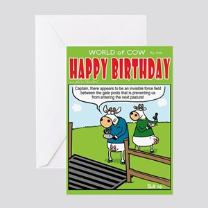 Force Field Greeting Card