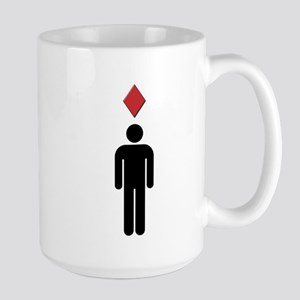 Angry Sym Large Mug
