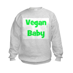 Vegan Baby - Multiple Colors Sweatshirt