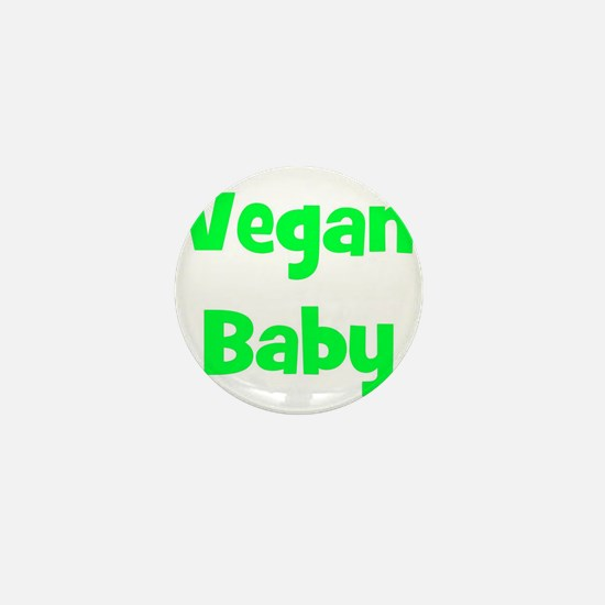 Vegan Baby - Multiple Colors Mini Button