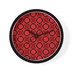 Gusto Cherry Pie Wall Clock