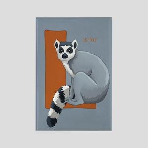L is for Lemur Magnets