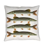 Northern Pike Everyday Pillow