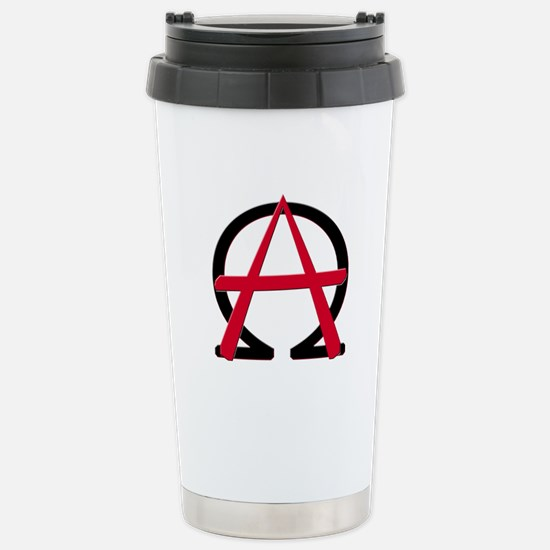 Christain Anarchy Stainless Steel Travel Mug