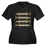 Northern Pike Plus Size T-Shirt