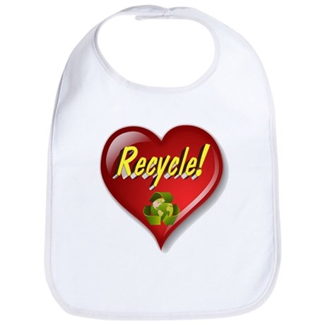 The Great Recycle Heart Bib