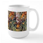Large Mug - Orange Leaves #1