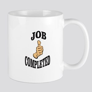 job completed task Mugs