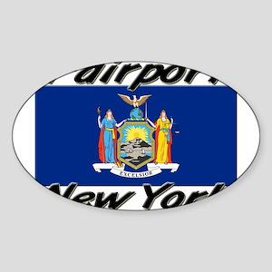 Fairport New York Oval Sticker