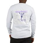 Hebrews 12:1 (louder) Long Sleeve T-Shirt