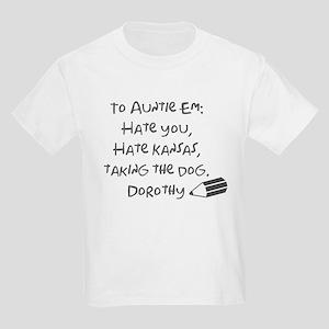 Dear Auntie Em Kids Light T-Shirt