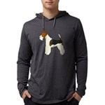 Wire Fox Terrier Mens Hooded Shirt