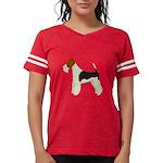 Wire Fox Terrier Womens Football Shirt