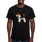 Wire Fox Terrier Men's Fitted T-Shirt (dark)