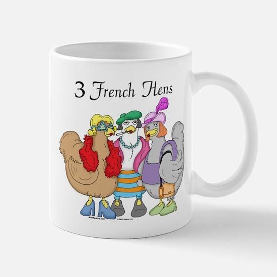 3 French Hens Mug