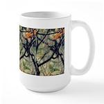 Large Mug - Orange Leaves #3