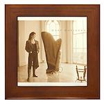 Recording Artist Phyllis Sparks, Framed Tile